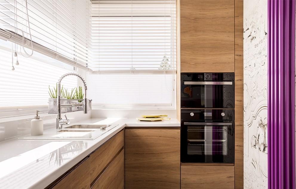 کابینت آَشپزخانه سفید
