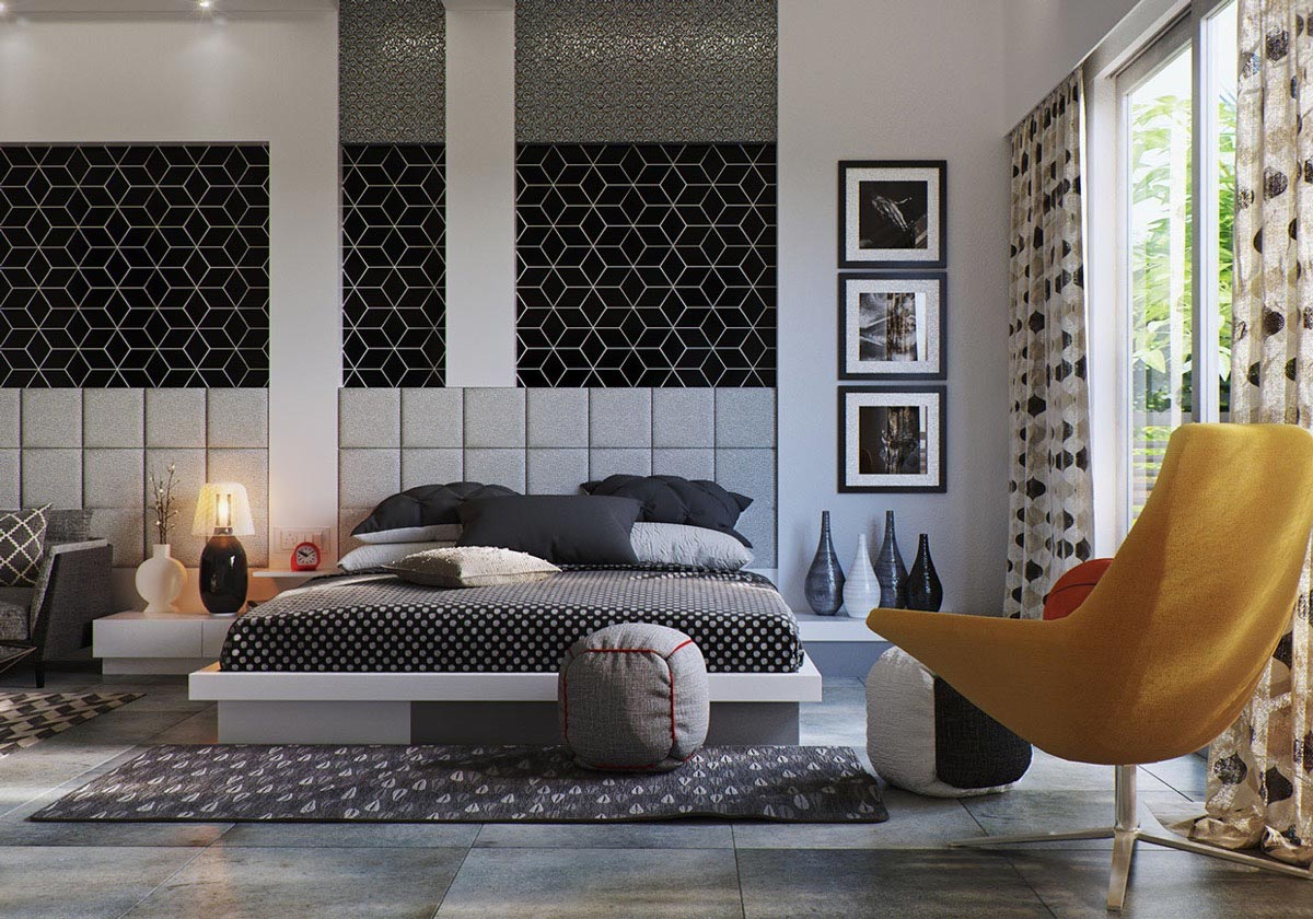 ایده برای دکوراسیون اتاق خواب