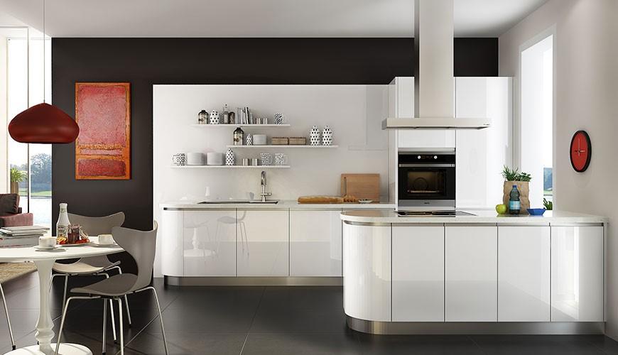 معایب کابینت هایگلاس آشپزخانه