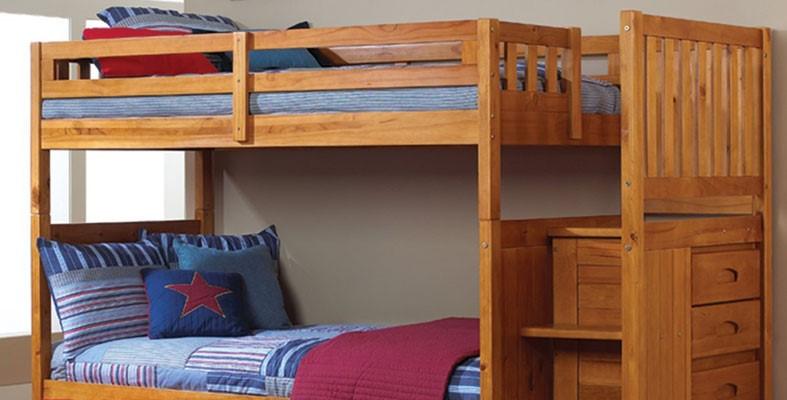 طرح تخت خواب دو طبقه