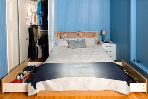 طرح کمد دیواری اتاق خواب زیبا