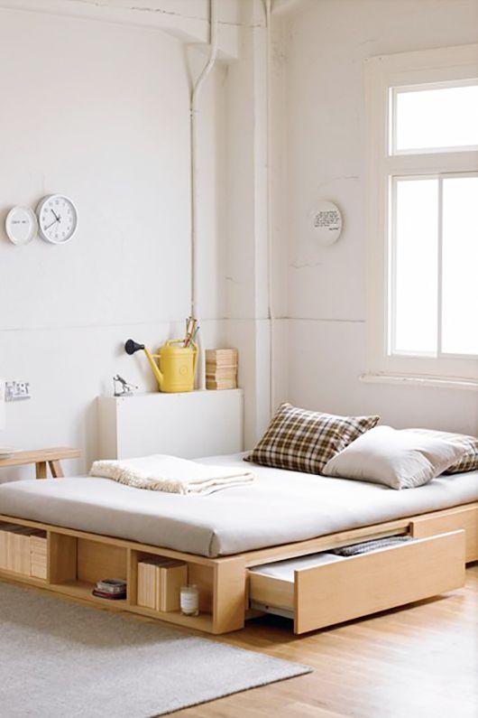 تخت خواب یک نفره کشودار