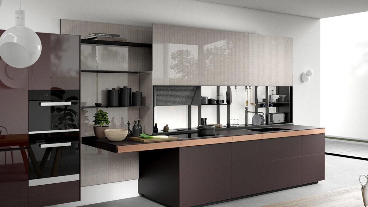 کابینت آشپزخانه مدل جدید و شیک