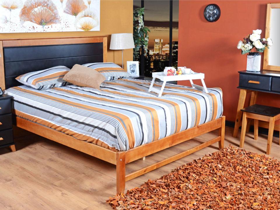 ایده سرویس خواب چوبی
