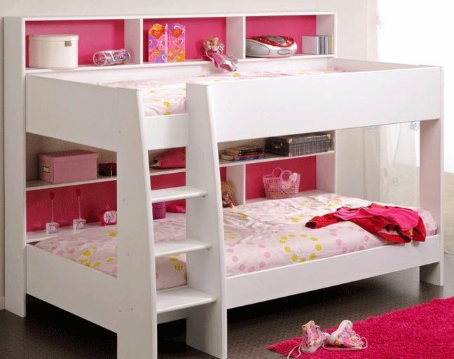 تخت خواب دو طبقه دخترانه مدرن