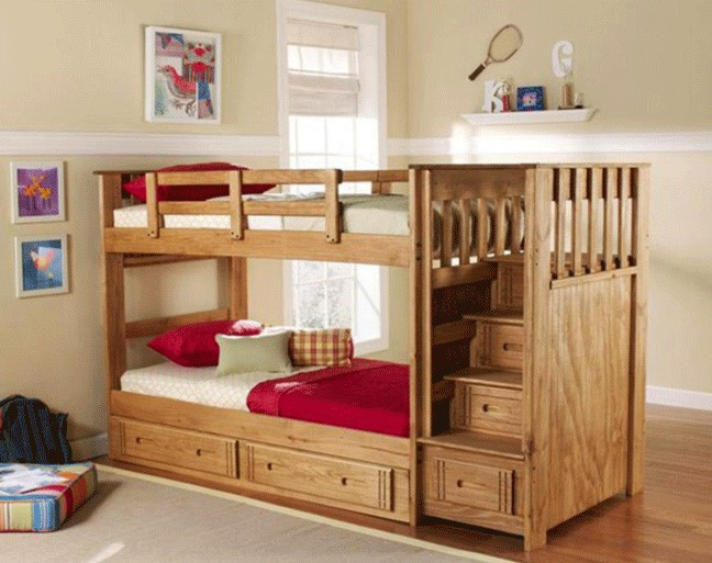 تختخواب دو طبقه دخترانه