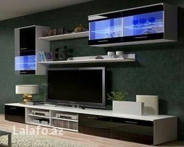 میز تلویزیون مدرن سفید