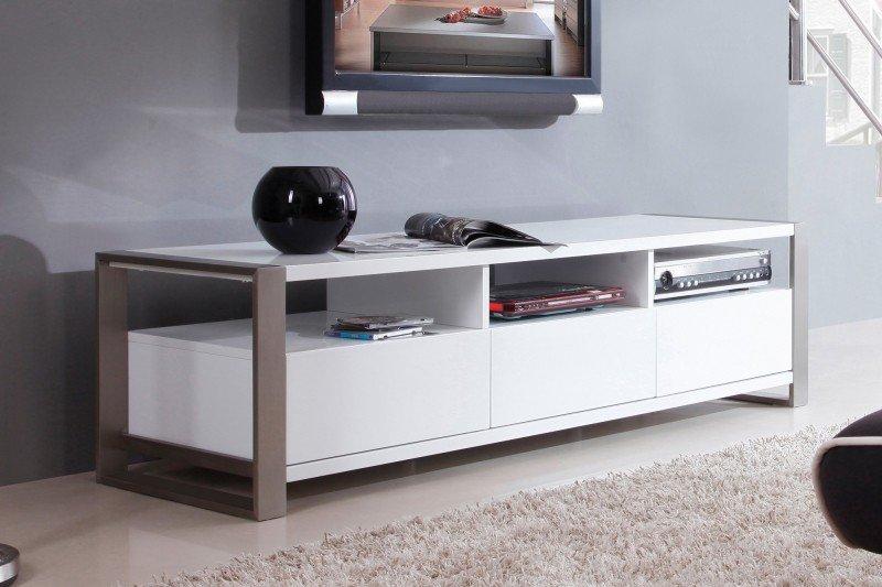 میز تلویزیون مدرن سفید و شیک