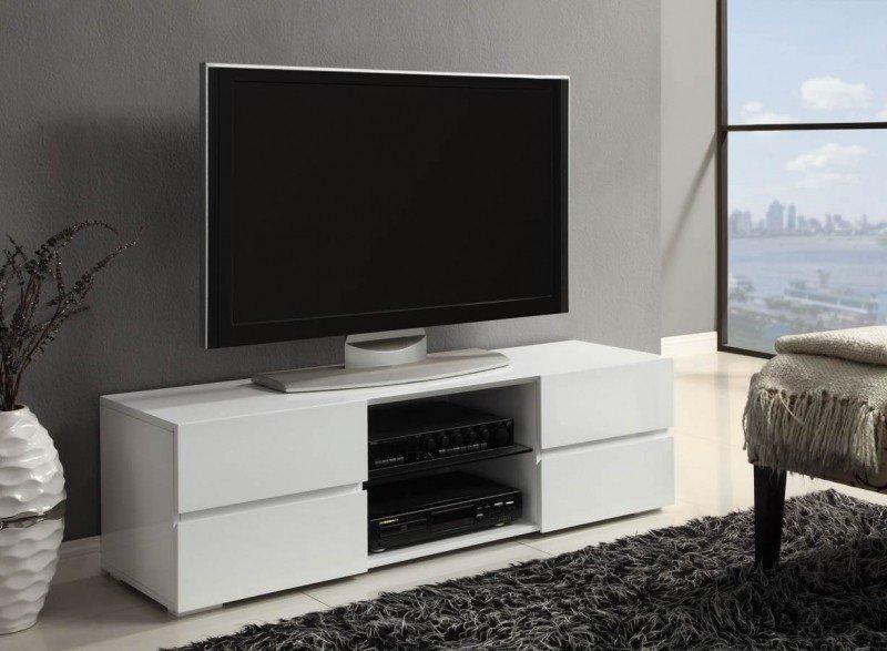 میز تلویزیون سفید و شیک