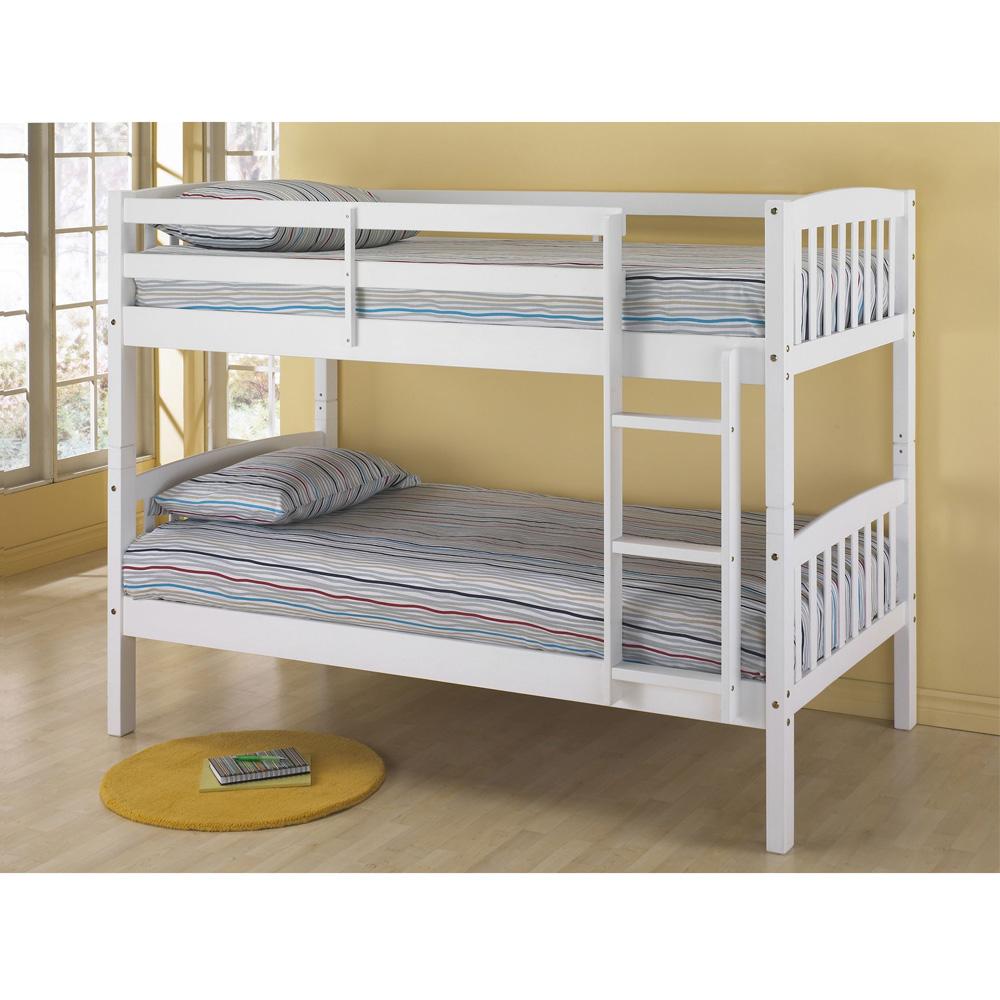 تختخواب دو طبقه چوبی