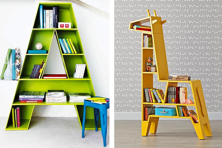 کتابخانه اتاق کودک