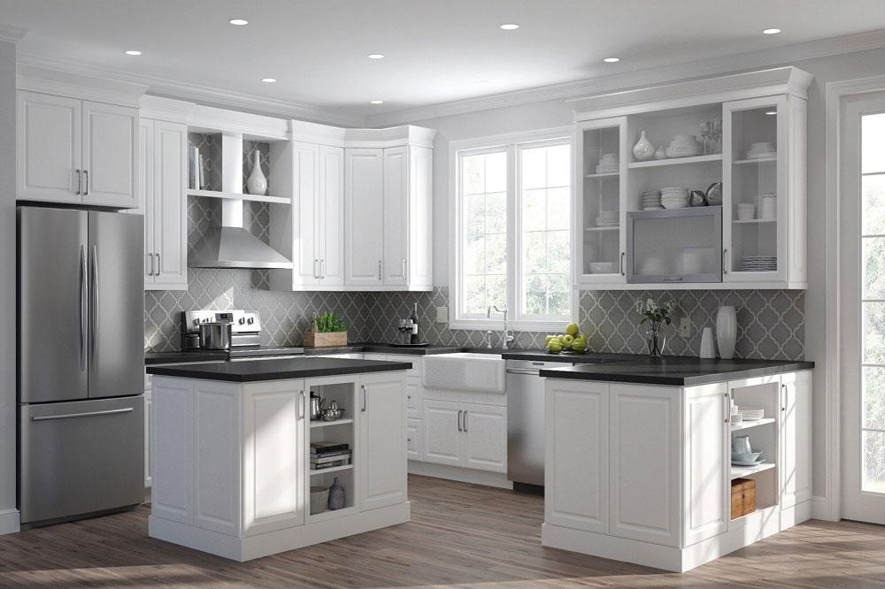 کابینت آشپزخانه سفید 2019