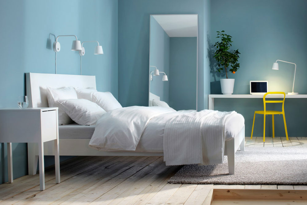 سرویس خواب اسپورت: سفید آبی
