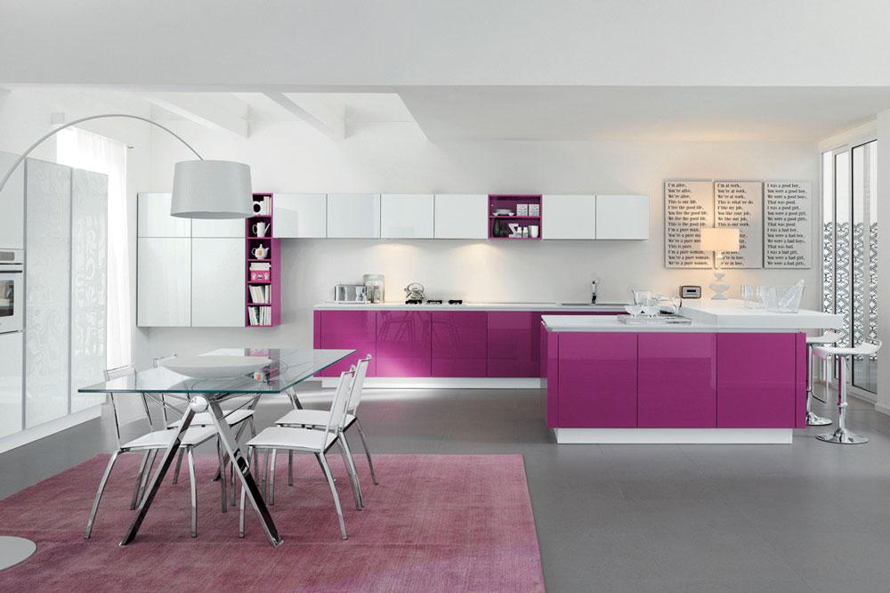 کابینت آشپزخانه سفید: ترکیب با سایر رنگ ها