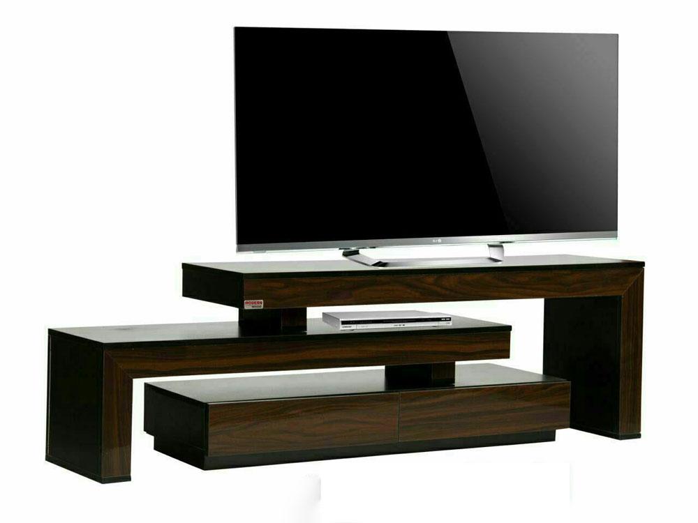 میز تلویزیون سه تیکه: تیکه های کنار هم