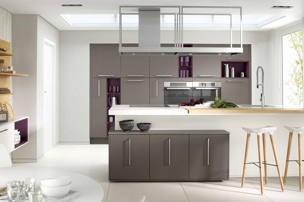 3 ترکیب رنگ کابینت های گلاس برای آشپزخانه منزلتان