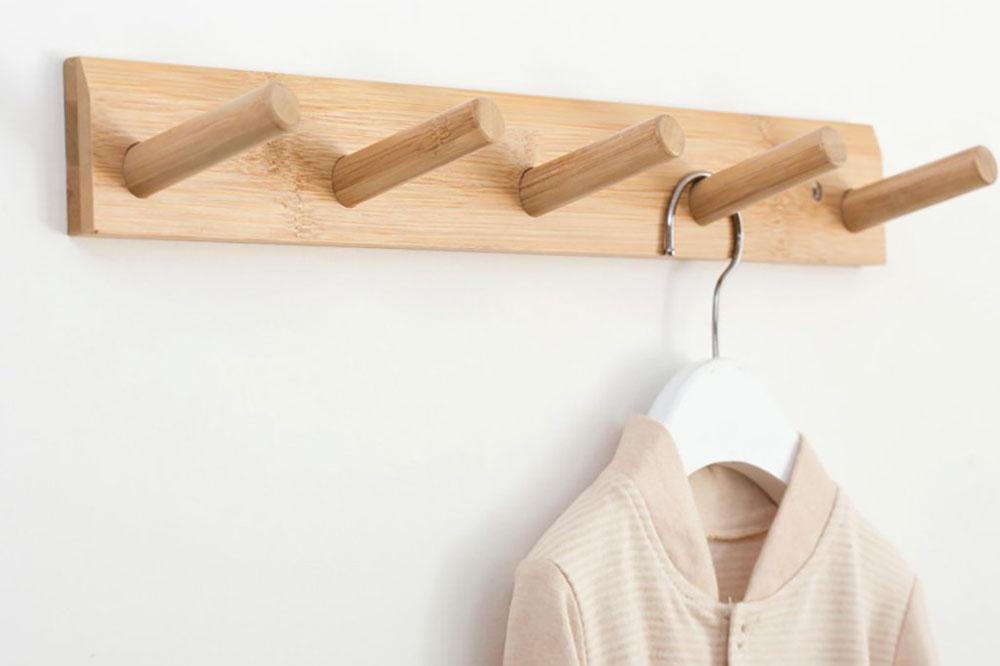 چوب و ام دی اف، متریال هایی مرغوب برای ساخت مدل جالباسی دیواری
