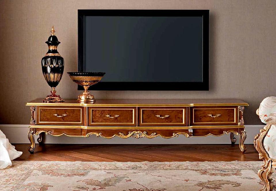 مقایسه اجمالی میز تلویزیون چوبی کلاسیک با مدرن