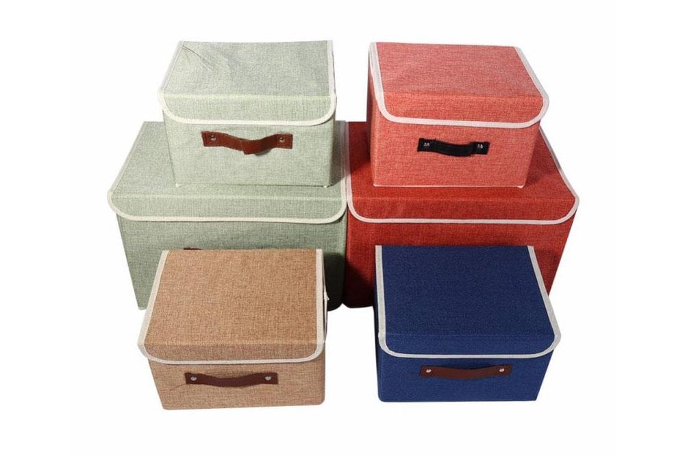 انواع مدل جعبه لباس داخل کمد