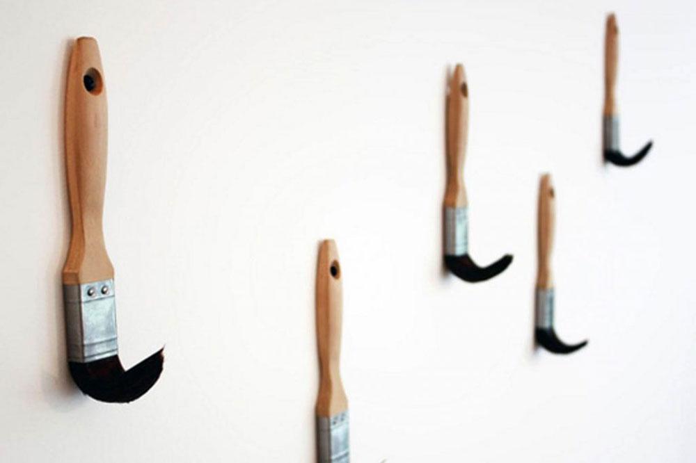 مدل جالباسی دیواری چوبی: طرح قلمو