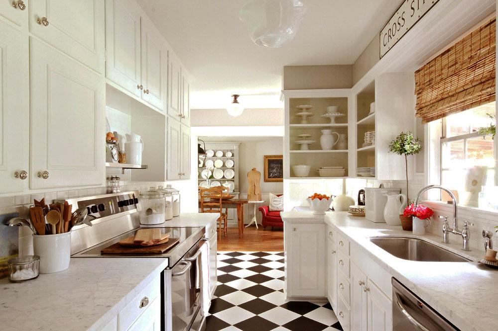 آشپزخانه سفید