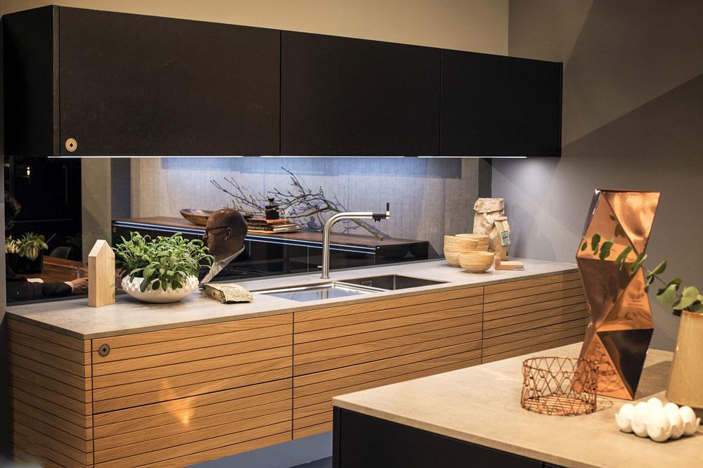 نورپردازی کابینت آشپزخانه: LED