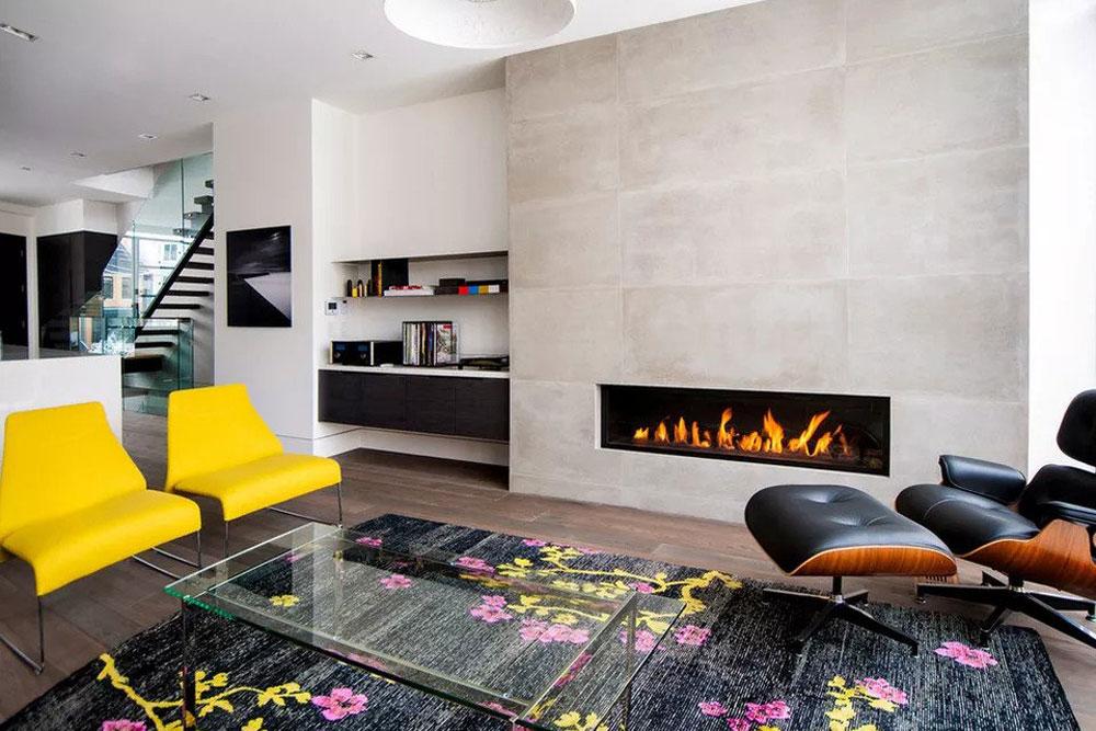 طراحی داخلی پذیرایی و نشیمن: استفاده از پالت های رنگی هیجان انگیز