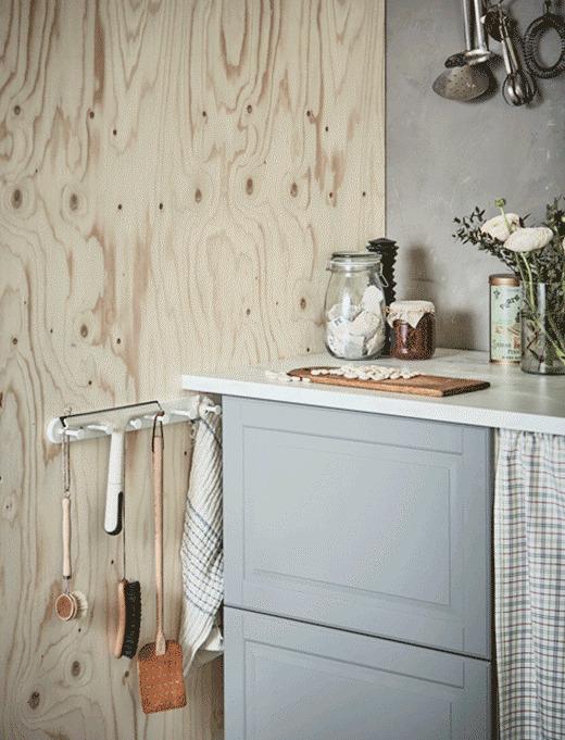 فضای خالی بین کابینت ها و دیوار آشپزخانه