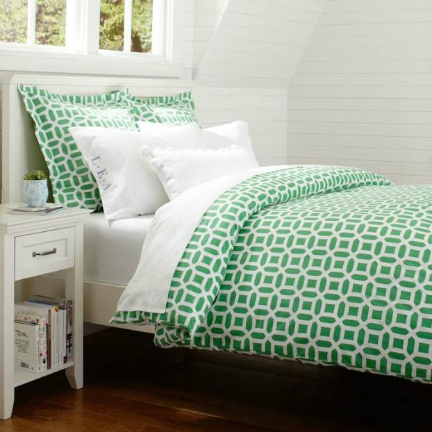 تخت خواب سبز