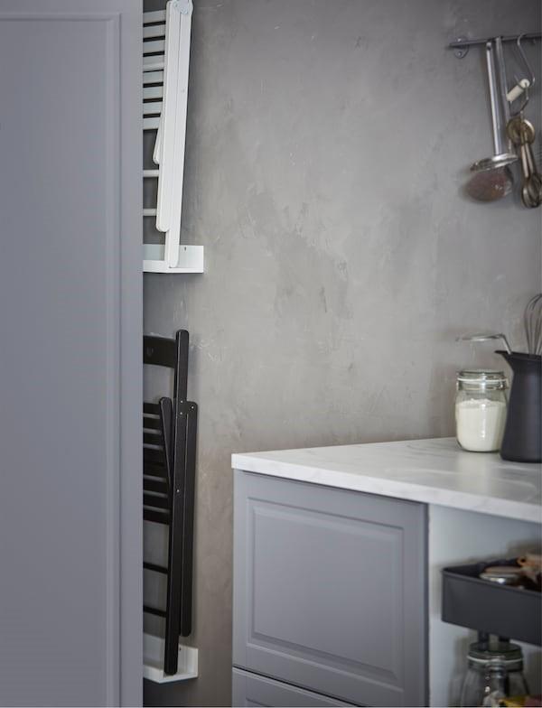 فضای عمودی بین کابینت ها و دیوار آشپزخانه