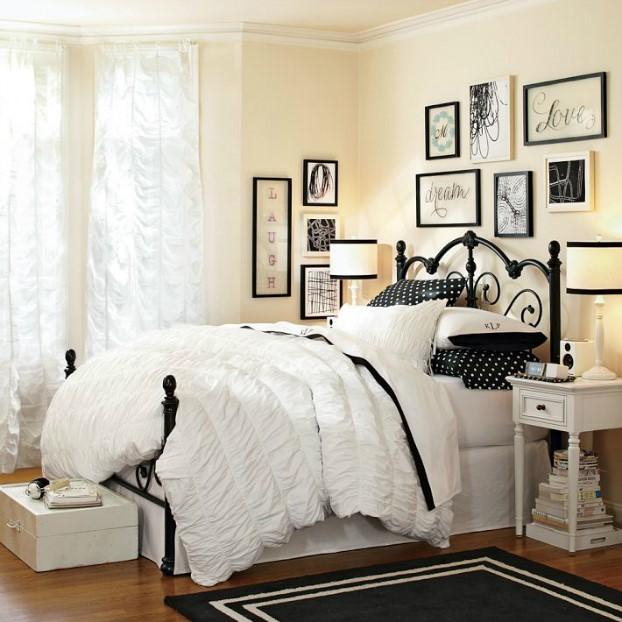 تخت خواب نوجوان ساده