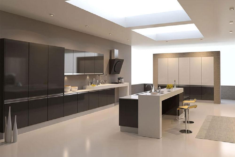 دستگیره مخفی کابینت برای چه آشپزخانه هایی مناسب است؟