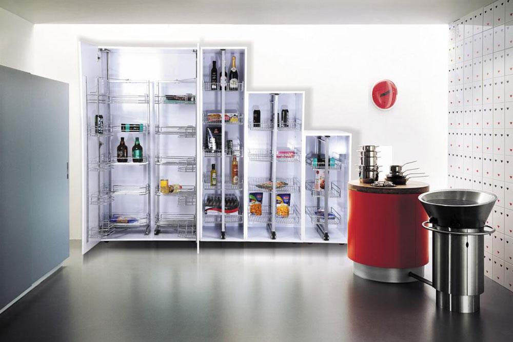 اندازه سوپری آشپزخانه : سوپری یخچالی
