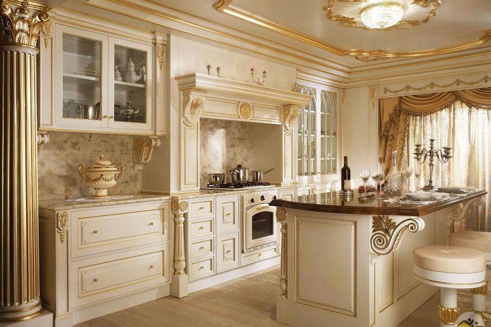 ویژگی های بارز کابینت آشپزخانه سلطنتی