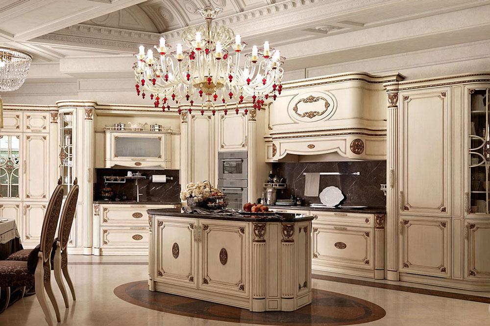 رنگ بندی کابینت آشپزخانه سلطنتی