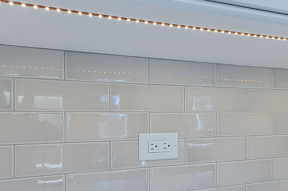 نورپردازی مدل کابینت ام دی اف