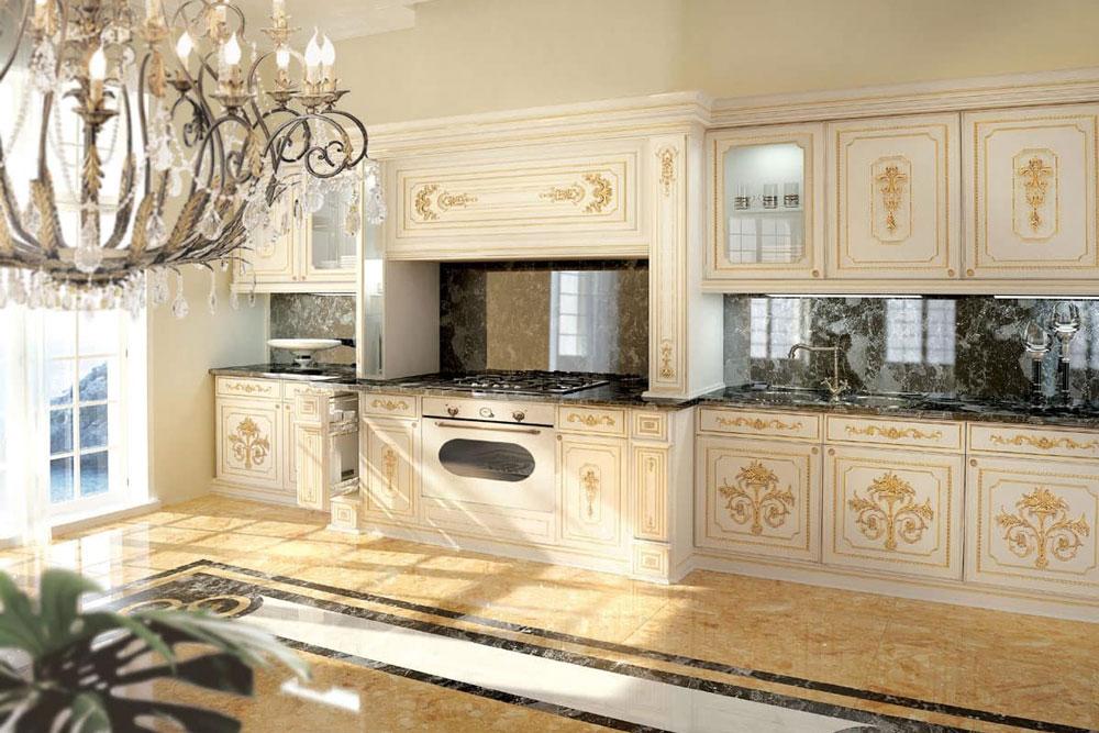 با کابینت آشپزخانه سلطنتی شاهانه زندگی کنید.