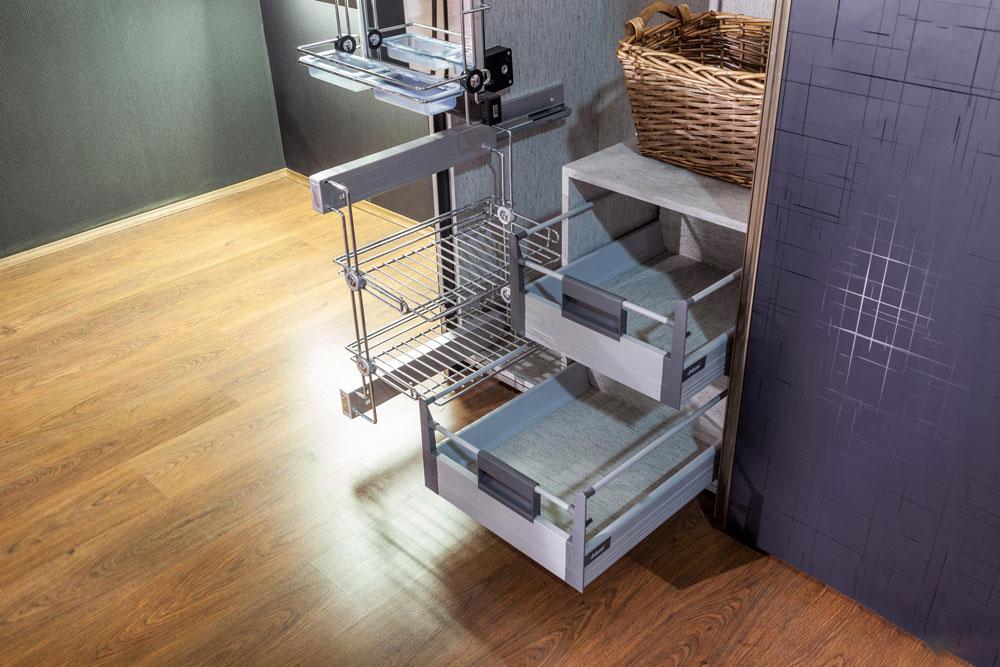اندازه سوپری آشپزخانه: سوپری زمینی جادار