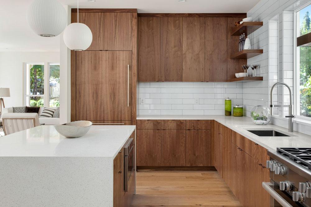 بهترین نوع کابینت چیست : چوب جامد؟