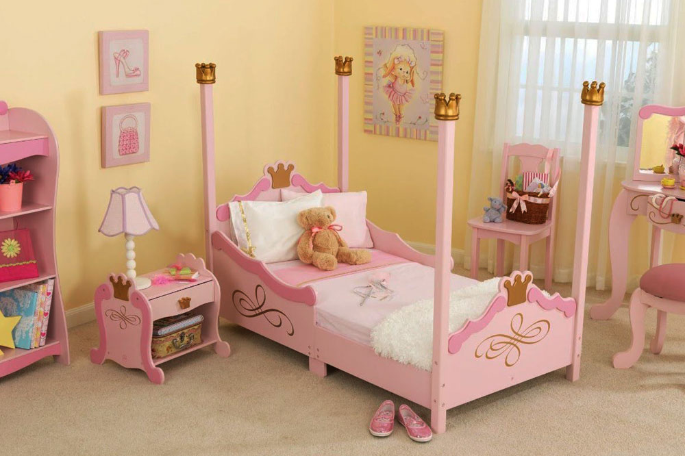 تخت خواب دخترانه شیک