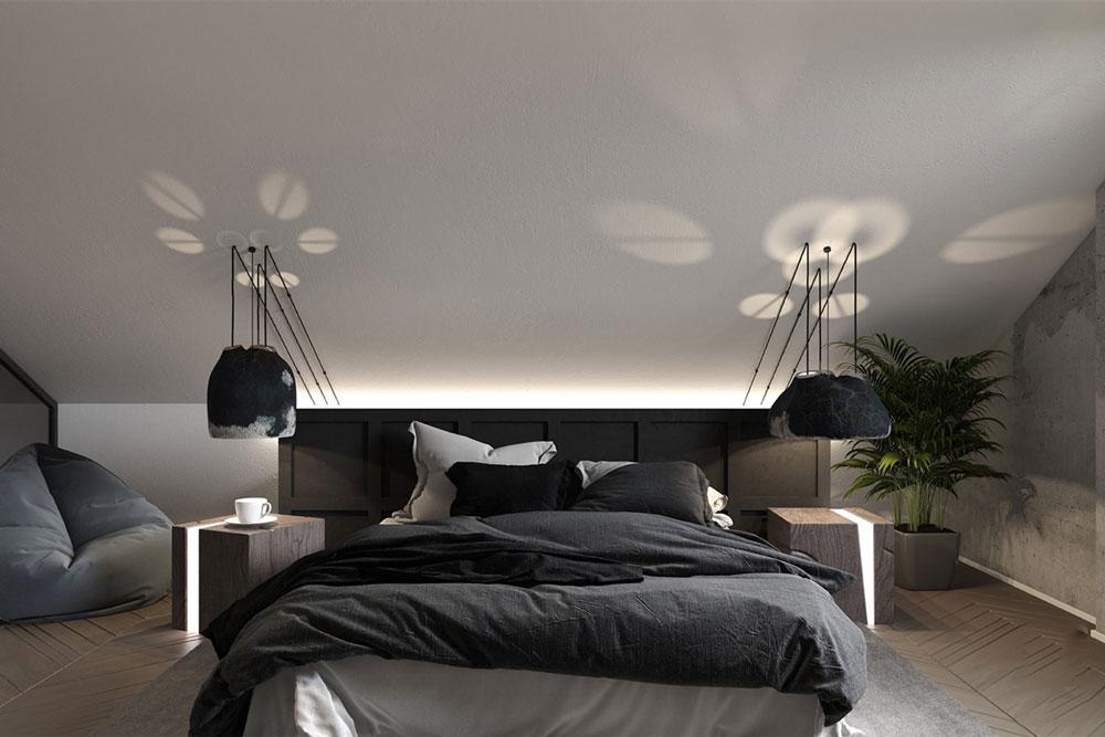 مدل اتاق خواب به سبک مراکشی