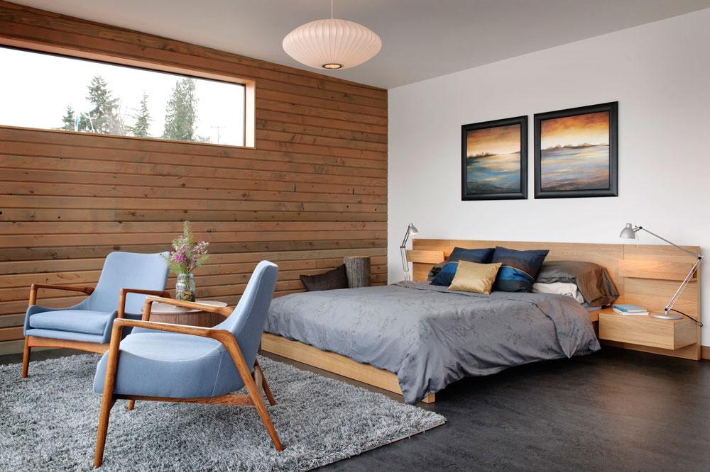 مدل اتاق خواب به سبک میانه قرن