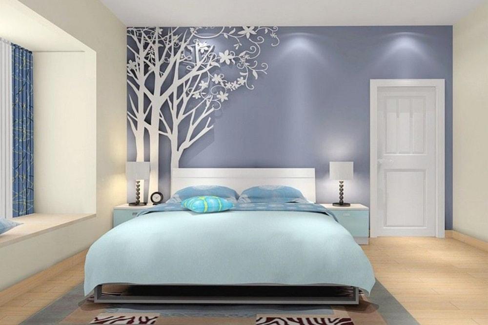 کاغذ دیواری اتاق خواب جدید