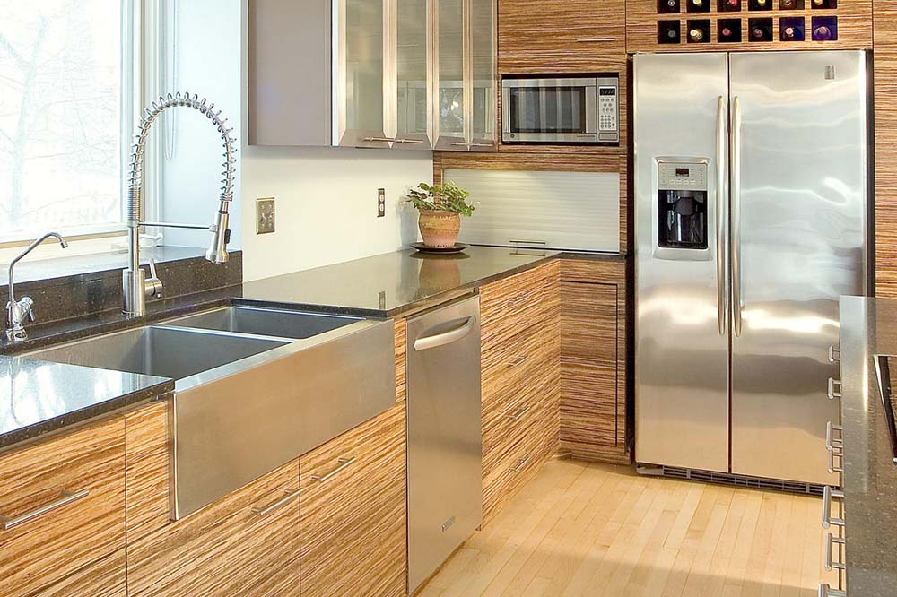 مدل کابینت آشپزخانه با سبک مدرن