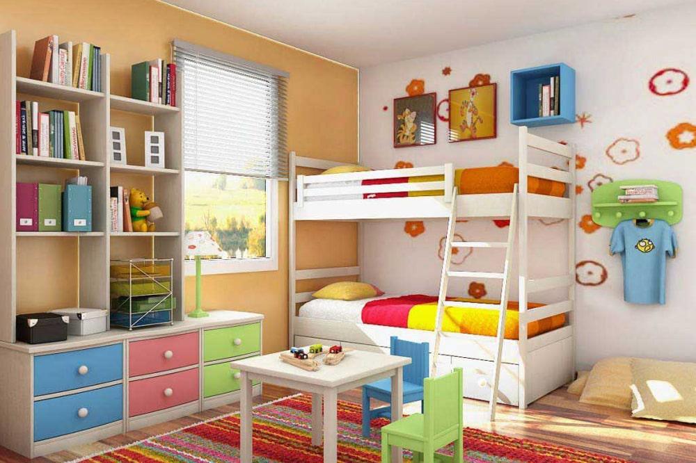 ایده تخت خواب کودک و نوجوان