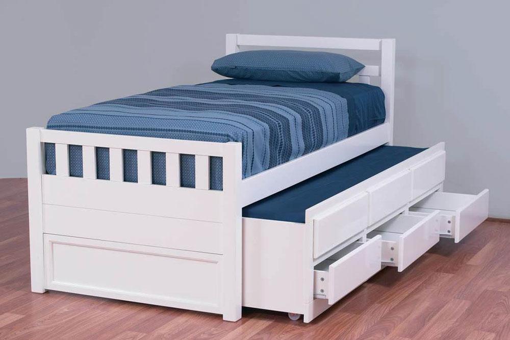 تخت خواب یک نفره سه منظوره