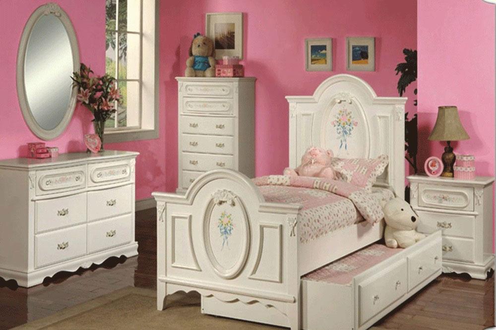 دکوراسیون اتاق خواب دخترانه جوان