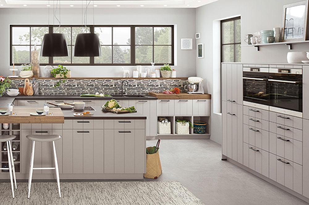 مدل آشپزخانه رو به پنجره، می تواند برای هر کسی دلچسب باشد.