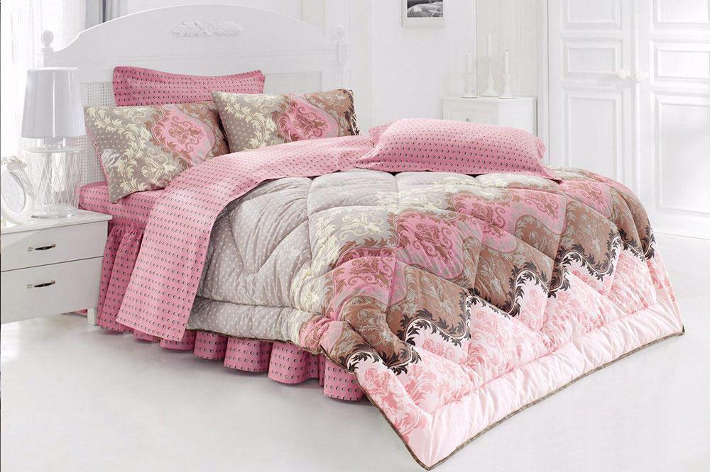 مدل تخت خواب عروس و داماد سفید رنگ