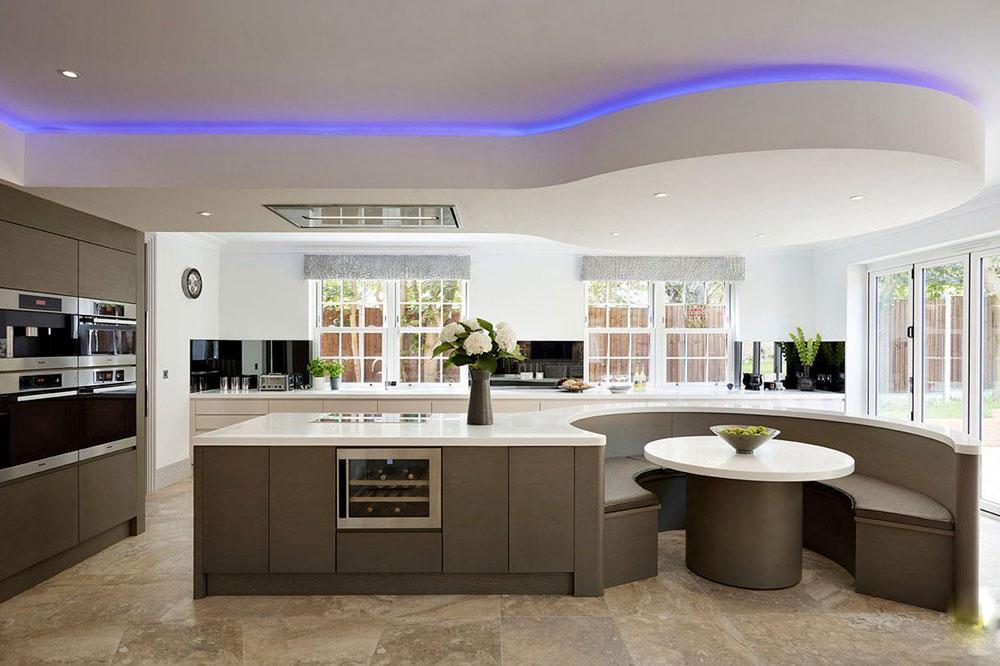 خلاقیت و زیبایی را در دکوراسیون آشپزخانه به کار ببرید.